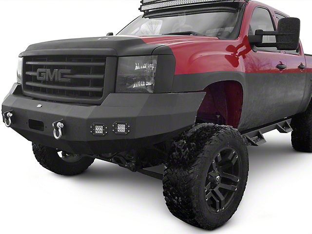 DV8 Off-Road Recovery Front Bumper (07-13 Sierra 1500)