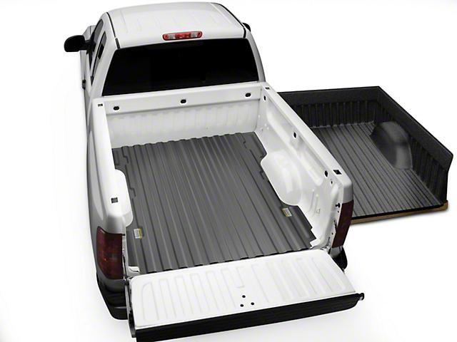 Weathertech UnderLiner Bed Liner; Black (07-13 Sierra 1500)