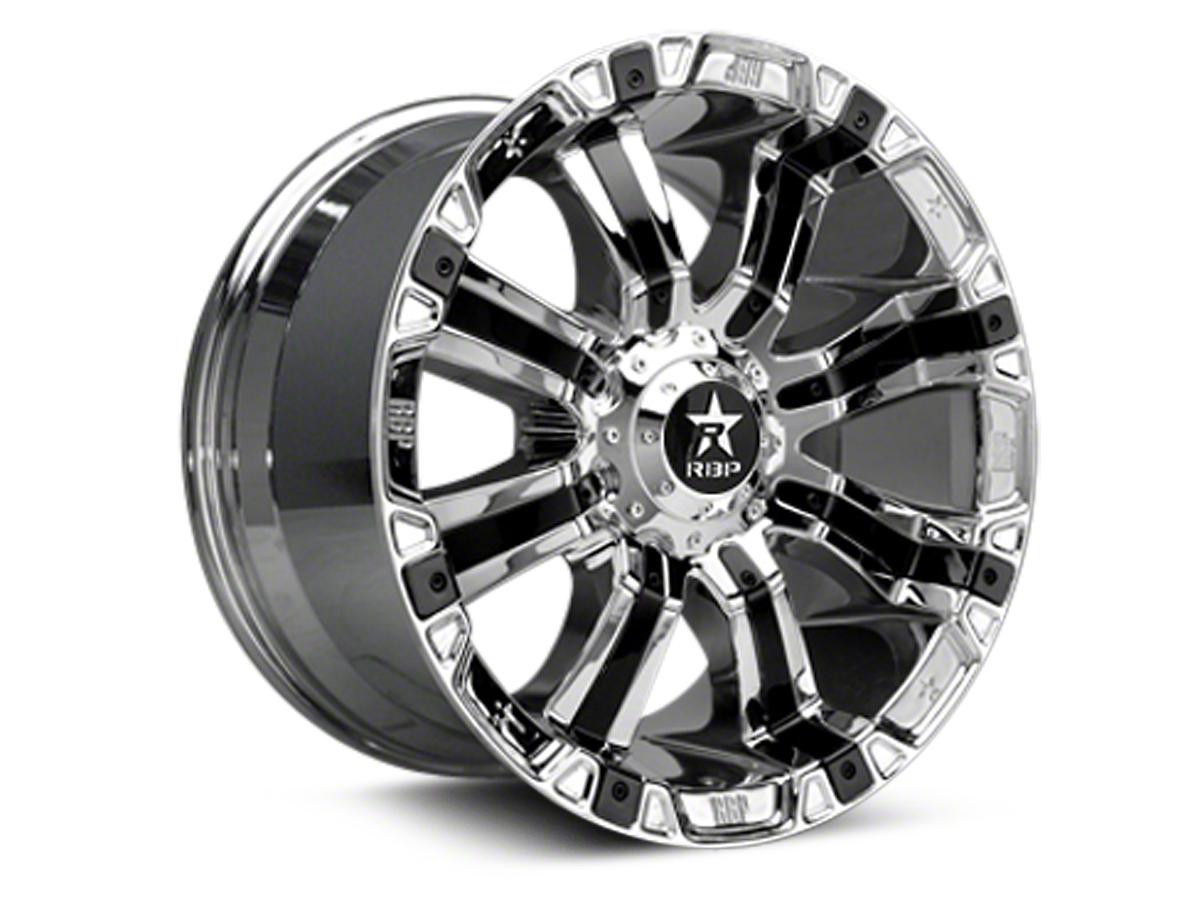 RBP 94R Chrome w/ Black Inserts 6-Lug Wheel - 20x9 (07-18 Sierra 1500)