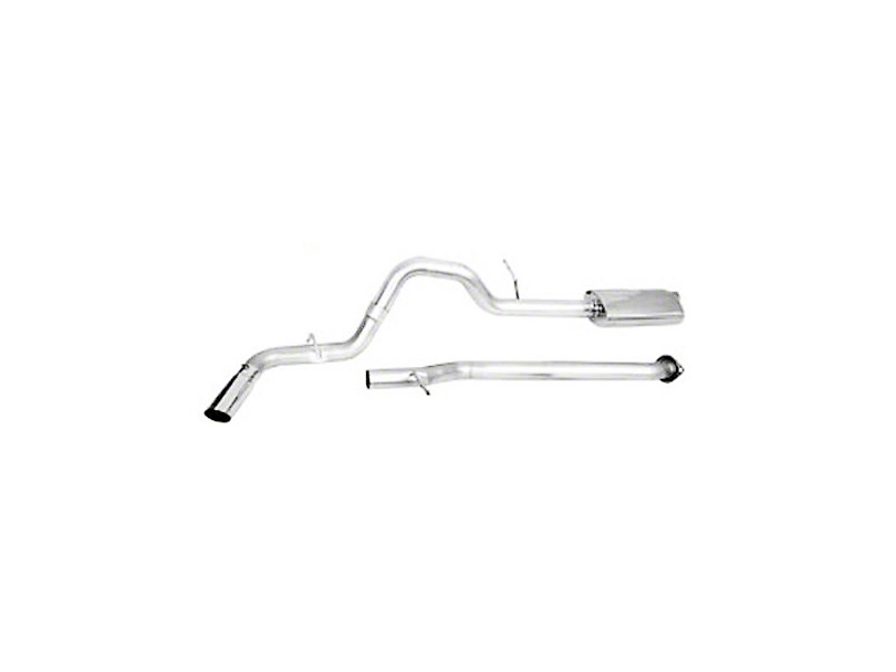 CGS Motorsports Aluminized Single Exhaust System - Side Exit (09-13 5.3L Sierra 1500)
