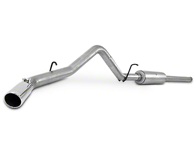 MBRP 3 in. Installer Series Single Exhaust System - Side Exit (14-18 5.3L Sierra 1500)