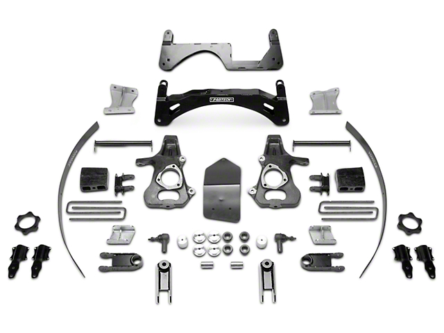 Fabtech 6-Inch MagneRide Basic Suspension Lift Kit (14-18 2WD/4WD Sierra 1500 Denali)