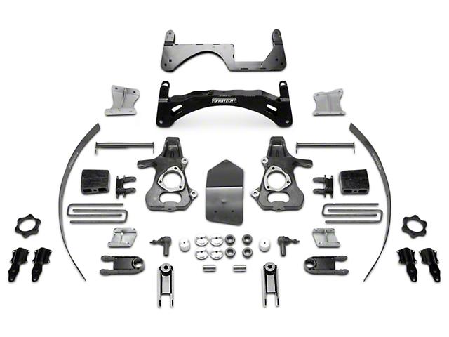 Fabtech 6 in. MagneRide Basic Lift System (14-18 2WD/4WD Sierra 1500 Denali)