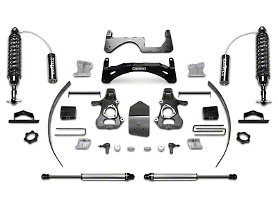 Fabtech 6 in. Performance Lift System w/ Dirt Logic 2.5 Coilover Reservoirs & Shocks (14-18 2WD/4WD Sierra 1500 Double Cab, Crew Cab, Excluding Denali)