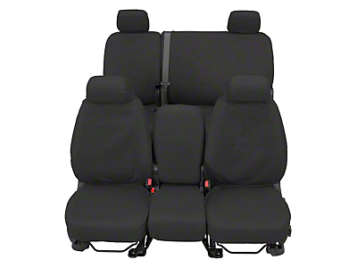Covercraft Front Row SeatSaver Seat Covers - Waterproof Gray (07-18 Sierra 1500 w/ Bucket Seats)