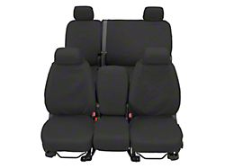 Covercraft SeatSaver Waterproof Front Seat Cover; Gray (07-13 Sierra 1500 w/ Bench Seat & Folding Center Console w/ a Tray/Cupholder)