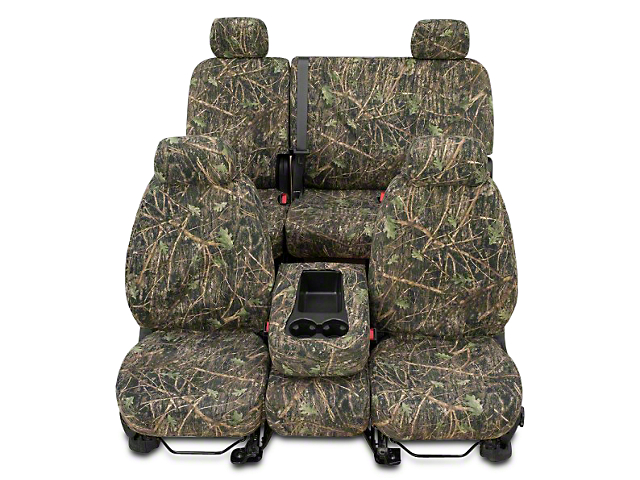 Covercraft Second Row SeatSaver Seat Cover; True Timber Conceal Green Camo (07-13 Sierra 1500 Extended Cab, Crew Cab)