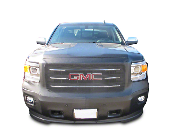 Covercraft Colgan Custom Full Front End Bra - Crush Black (14-15 Sierra 1500 Denali, SLT Crew Cab)