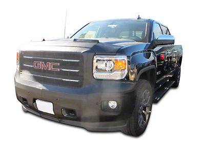 Covercraft Colgan Custom Original Front End Bra - Crush Black (14-15 Sierra 1500 Denali, SLT Crew Cab)