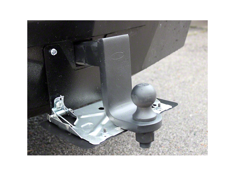 Iron Cross Flip Down License Plate for Iron Cross HD Base Series Bumpers (Universal Fitment)