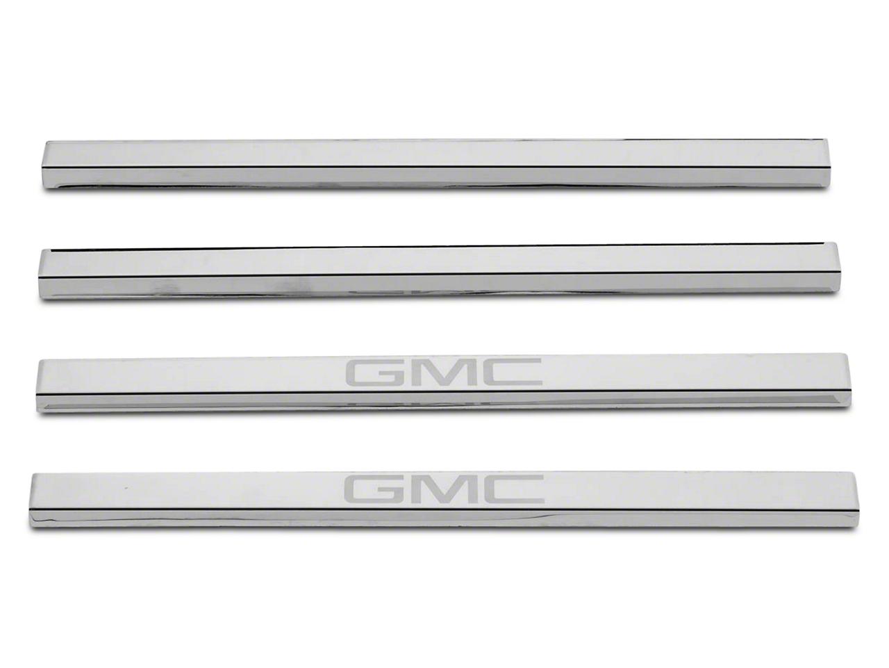 Putco Stainless Steel Door Sills w/ GMC Logo (14-18 Sierra 1500)