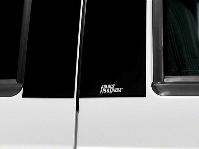 Putco Black Platinum Pillar Posts (07-13 Sierra 1500 Extended Cab, Crew Cab)