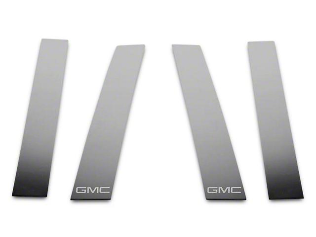 Putco Stainless Steel Pillar Posts w/ GMC Logo (07-13 Sierra 1500 Extended Cab, Crew Cab)