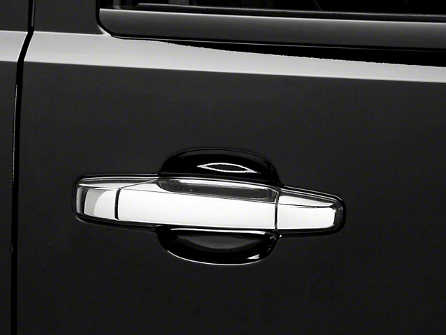 Putco Chrome Door Handle Covers w/o Passenger Keyhole - Center Section Only (07-13 Sierra 1500)