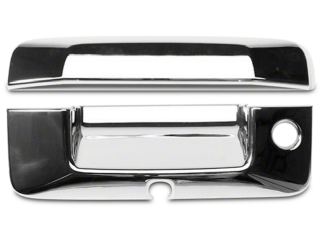 Putco Chrome Tailgate Handle Covers (14-18 Sierra 1500)