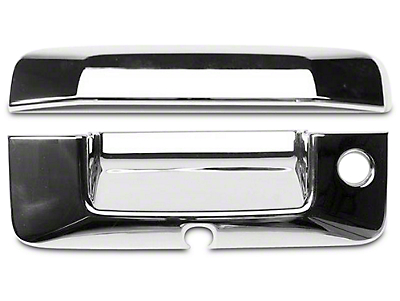 Chrome Tailgate Handle Covers (14-18 Sierra 1500)