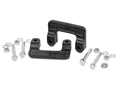 Rough Country 2 in. Leveling Lift Kit (07-18 2WD/4WD Sierra 1500 w/ Stock Cast Steel Control Arms)