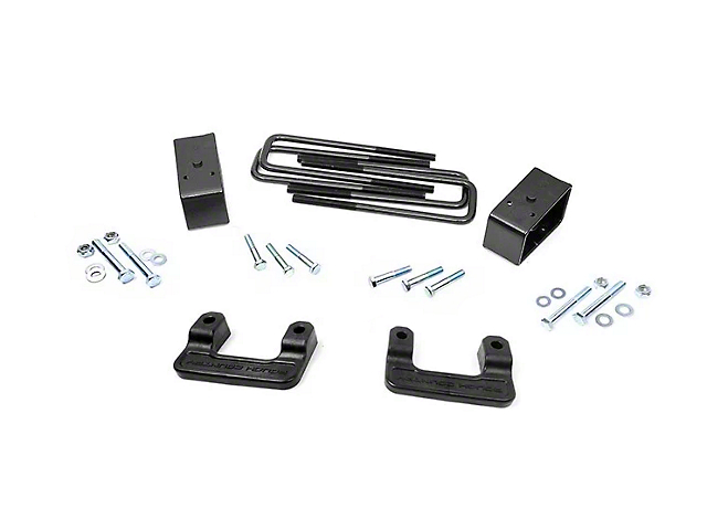 Rough Country 2.50-Inch Leveling Lift Kit (07-18 Sierra 1500, Excluding 14-18 Denali)