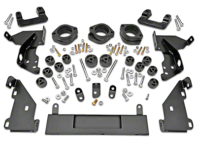 Rough Country 3.25 in. Suspension & Body Lift Kit (14-18 2WD/4WD Sierra 1500 w/ Stock Cast Steel or Aluminum Control Arms)