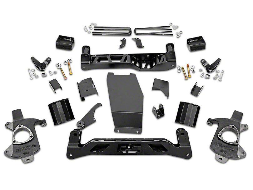 Rough Country 5 in. MagneRide Suspension Lift Kit (14-18 4WD Sierra 1500 Denali)
