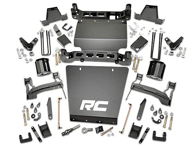 Rough Country 7 in. MagneRide Suspension Lift Kit (14-18 4WD Sierra 1500 Denali w/ Stock Cast Steel or Aluminum Control Arms)