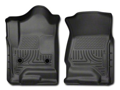 Add Husky WeatherBeater Front Floor Liners - Black (14-17 All)