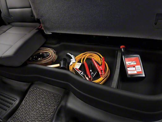Husky GearBox Under Seat Storage Box (07-13 Sierra 1500 Extended Cab, Crew Cab)