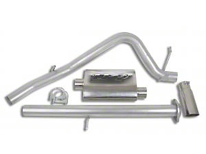 CGS Motorsports Stainless Single Exhaust System - Side Exit (07-08 5.3L Sierra 1500)