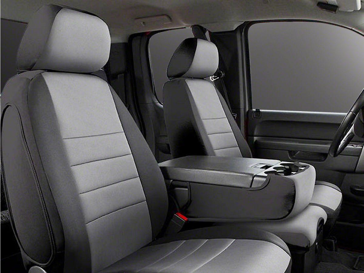 2016 Chevy Silverado 2500 HD LS LT Z71-Driver Side Bottom Cloth Seat Cover Gray