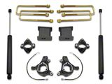 Max Trac 6-Inch Front / 3-Inch Rear Suspension Lift Kit with Shocks (07-18 2WD Sierra 1500 w/ Stock Cast Steel Control Arms, Excluding 14-18 Denali)