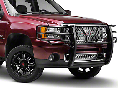 Barricade Extreme HD Grille Guard - Black (07-13 Sierra 1500)