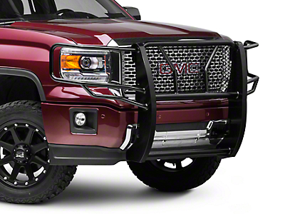 Barricade Extreme HD Grille Guard - Black (14-18 Sierra 1500)