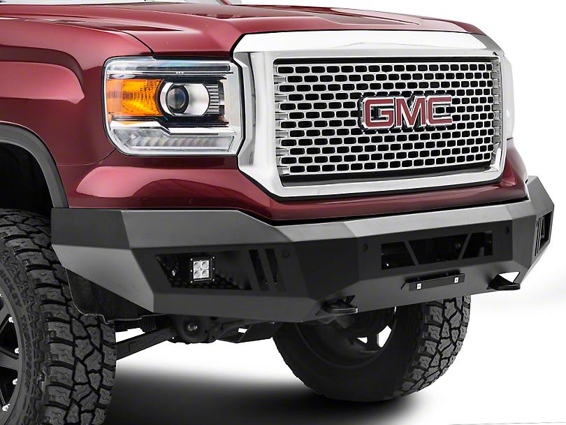 Barricade Extreme HD Front Bumper w/ LED Fog & Spot Lights (14-15 Sierra 1500)