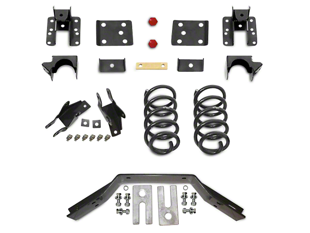Max Trac Lowering Kit - 2 in. Front / 4 in. Rear (14-18 2WD/4WD Sierra 1500, Excluding Denali)