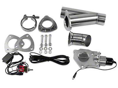 GMS Electronic Exhaust Cutout System - 2.5 in. (07-18 Sierra 1500)