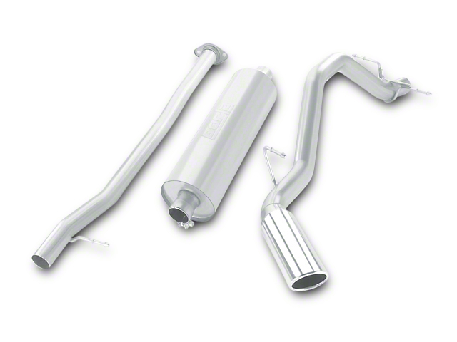 Borla Touring Single Exhaust System - Side Exit (07-09 6.0L Sierra 1500, Excluding Hybrid)