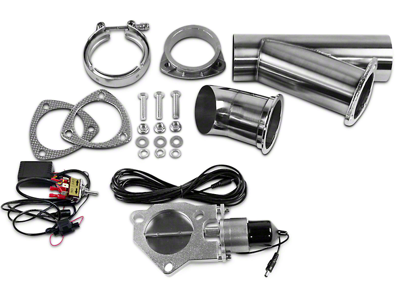 GMS Electronic Exhaust Cutout System - 3 in. (07-18 Sierra 1500)
