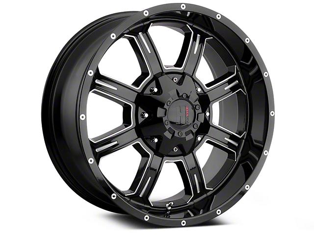 Havok Off-Road H101 Black Milled 6-Lug Wheel - 18x9 (07-19 Sierra 1500)
