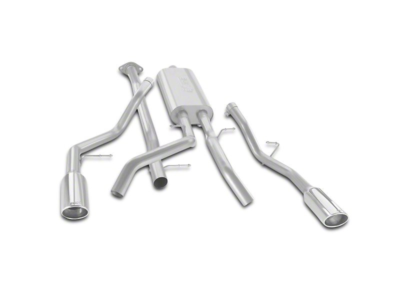 Borla Touring Dual Exhaust System - Rear Exit (07-13 4.8L Sierra 1500)
