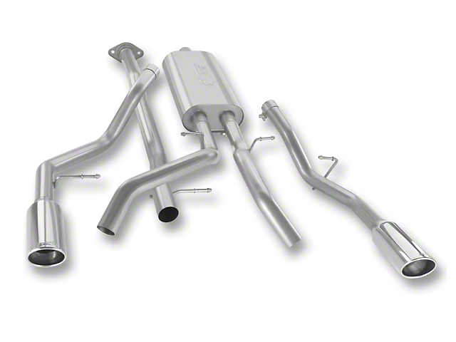 Borla Touring Dual Exhaust System - Rear Exit (07-13 5.3L Sierra 1500)
