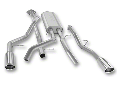 Borla Touring Dual Exhaust System - Rear Exit (07-09 6.0L Sierra 1500, Excluding Hybrid)