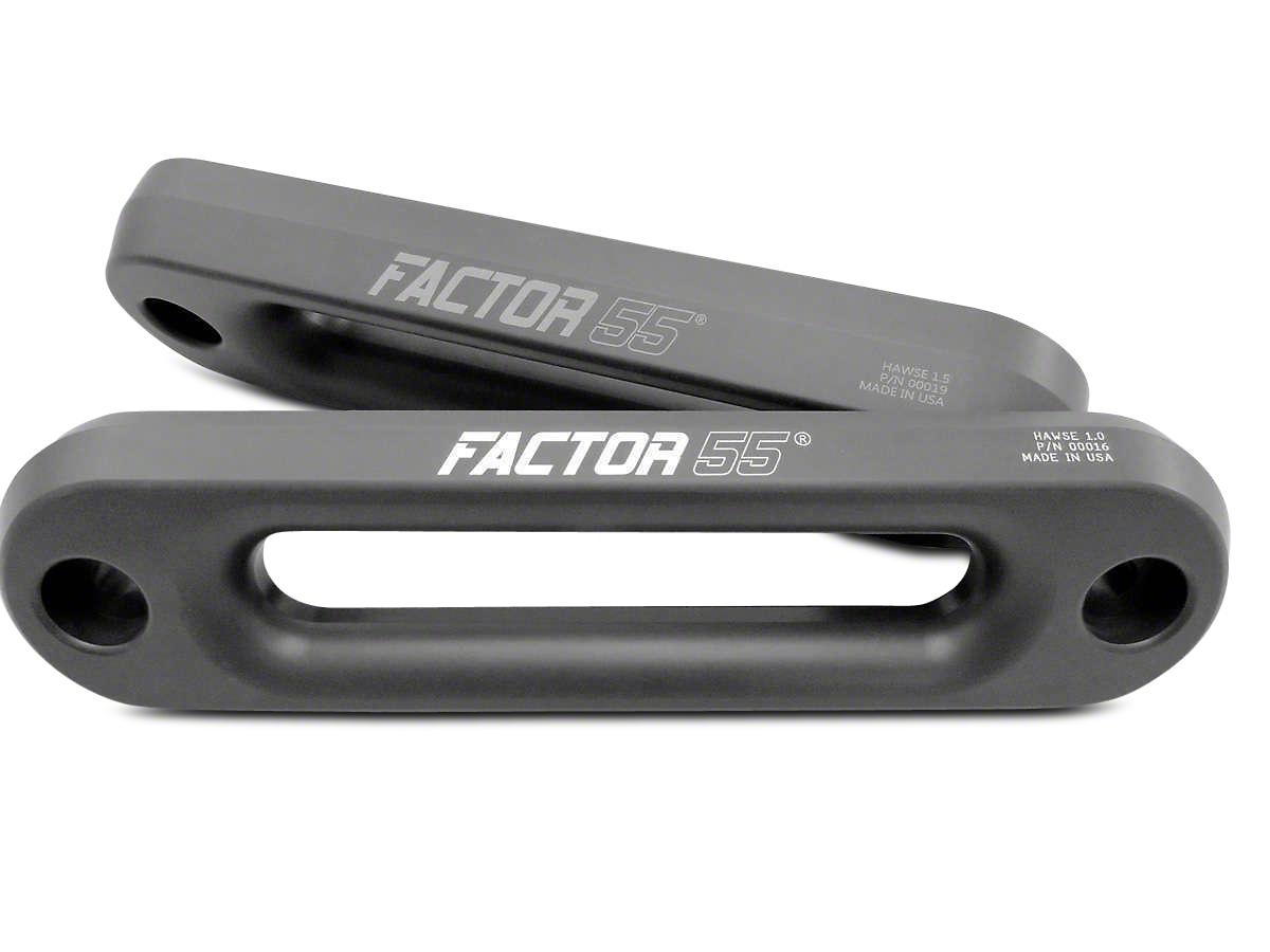 Factor 55 Hawse Fairlead - 1.0 in. (07-18 Sierra 1500)