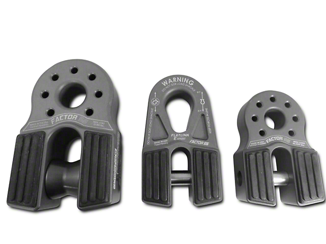 Factor 55 FlatLink/FlatLink E Rubber Guards - Set of Four (07-18 Sierra 1500)