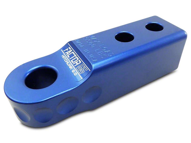 Factor 55 Aluminum HitchLink 2.0 - Blue (07-18 Sierra 1500)