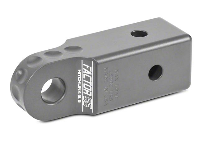 Factor 55 Aluminum HitchLink 2.5 - Gray (07-18 Sierra 1500)