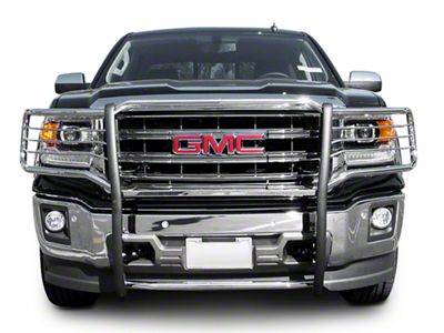 Sierra HD Grille Guard - Black (14-15 Sierra 1500 ...