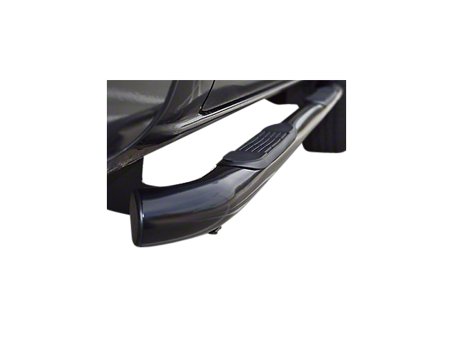 Steel Craft 3 in. Blackout Series Body Mount Side Step Bars (07-13 Sierra 1500 Extended Cab)