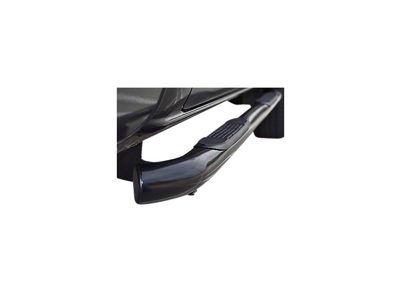 Steel Craft 4 in. Blackout Series Body Mount Side Steps (14-18 Sierra 1500 Double Cab)