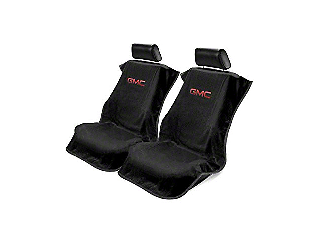 Seat Protector w/ GMC Logo - Black (07-18 Sierra 1500)