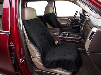 Seat Armour Seat Protector - Black (07-18 Sierra 1500)